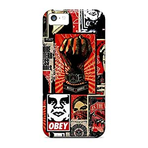 Hot TeBMFVk5430sCdCS Obey Tpu Case Cover Compatible With Iphone 5c