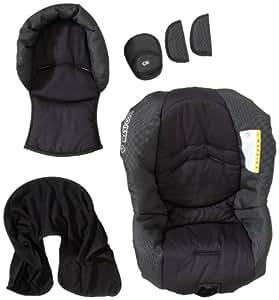 Maxi-Cosi 68702180 Citi SPS grupo 0+ - Funda de recambio para silla de coche, incluye reductor de asiento y acolchado para el cinturón, color negro