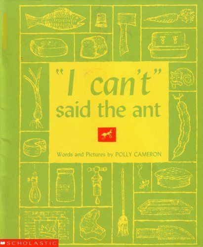 """I Can't"" Said the Ant pdf epub"