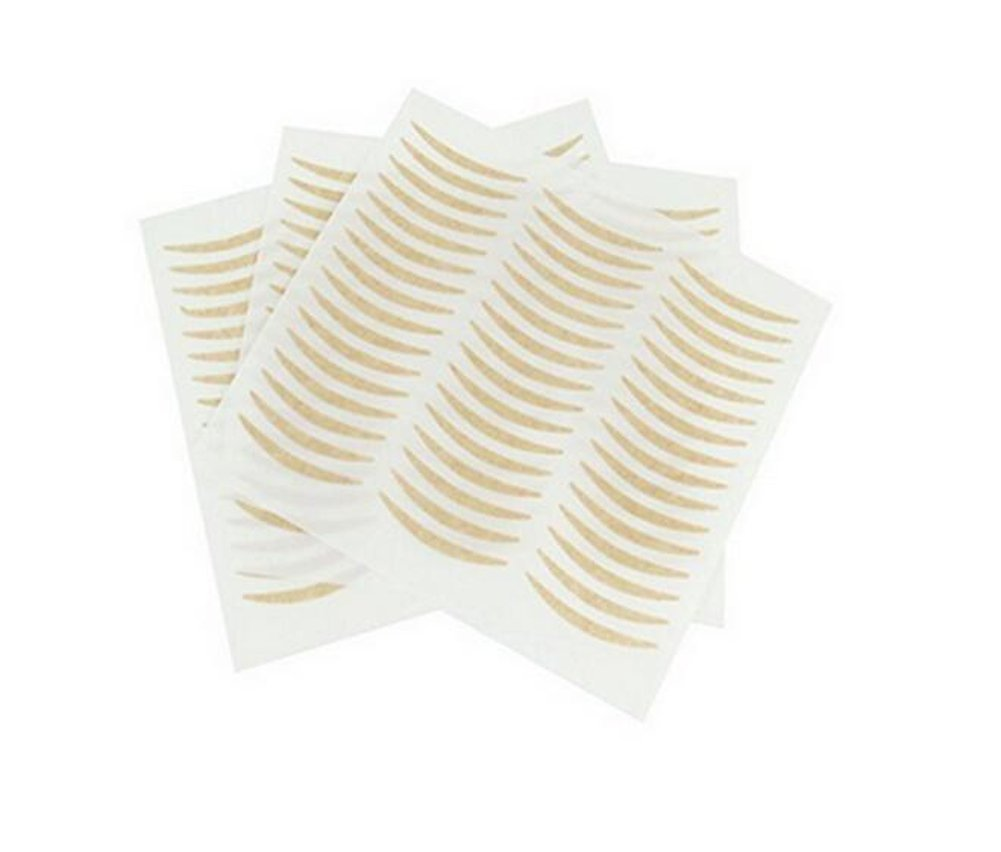 72 Pairs Nude Invisible Double Eyelid Tape Strips Sticker-Self-Adhesive Double Eyelid Stickers Instant Eye Lift Strips
