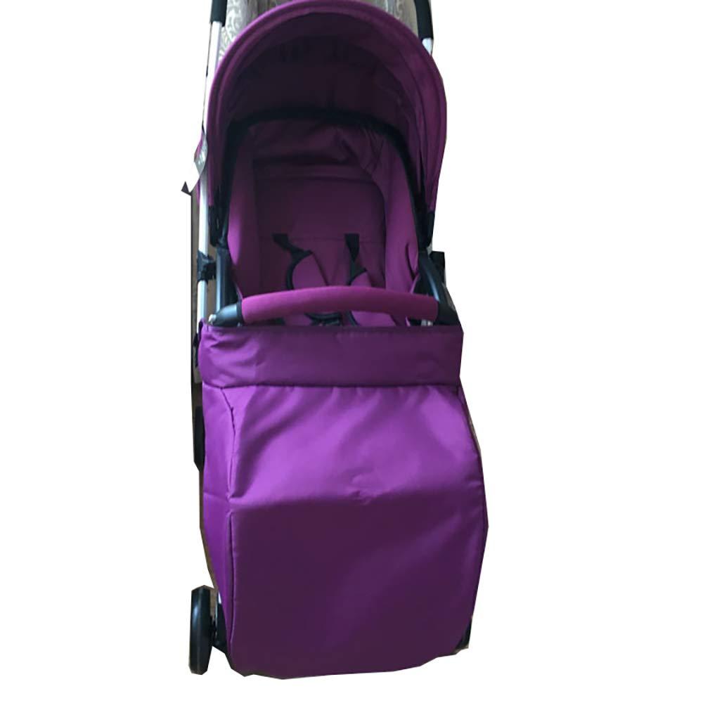 300D tela y algodón cálido cochecito de bebé pie muff o cochecito de bebé cubierta (rosa) 1 UNID Xiton