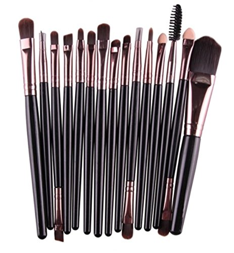 15 Pcs Makeup Brush Set Eyeshadow Eyebrow Eyelash Cosmetic Make Up Tool Foundation Natural Beauty Palettes Charming Popular Eyes Face Colorful Rainbow Hair Highlights Glitter Girls Travel Kit, - Place Knife Burgundy Large