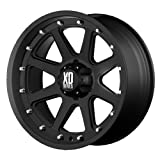 XD Series by KMC Wheels XD798 Addict Matte Black Wheel (18x9''/6x114.3mm, +18mm offset)