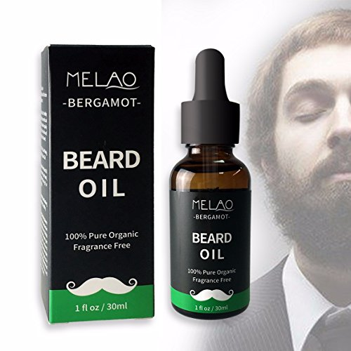 Organic Fragrance Free Beard Oil and Leave-In Conditioner, 1 fl. oz. by WetChalks