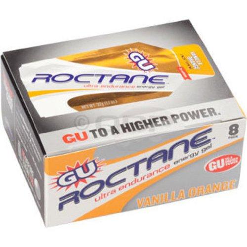 GU Roctane : Vanille-Orange ;