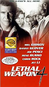 Lethal Weapon 4 [VHS]
