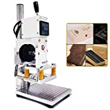 Upgraded Hot Foil Stamping Machine 10x13cm Leather