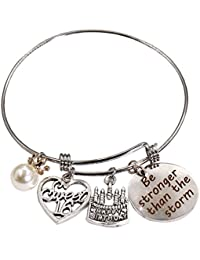 Birthday Gift Bangle Expandable Charms Bracelet Perfect Gift Idea with Gift Box