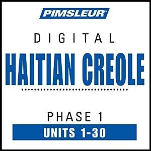 Haitian Creole Phase 1, Units 1-30 Speech