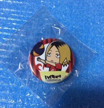 Haikyuu!! Animate Cafe cans badge Kodume Kenma New From Japan F/S
