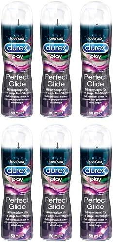 Durex Play, Gel Lubricante a Base de Silicona, 50 ml, Pack de 6 unidades: Amazon.es: Salud y cuidado personal