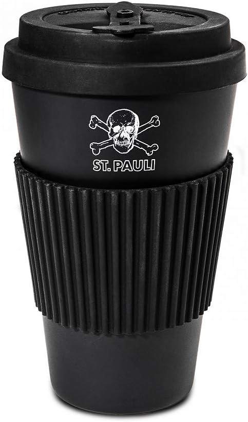 Pauli Kaffeebecher ** Totenkopf Bambus ** FC St