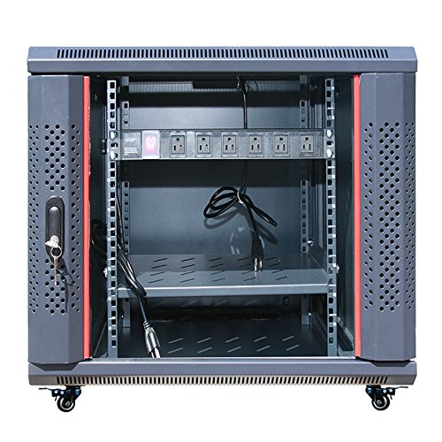 SYSRACKS 12U 35'' Depth Wall Mount Server Rack Cabinet (24