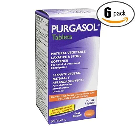 Amazon.com: 6pk – Purgasol – Vegetal Natural – purgante ...