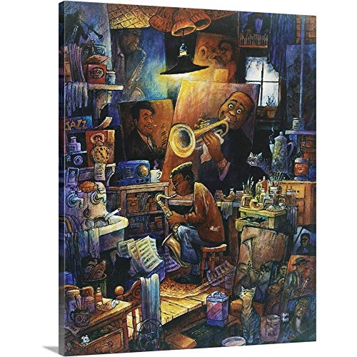 - Gallery-Wrapped Canvas Entitled Duet by Bill Bell 19