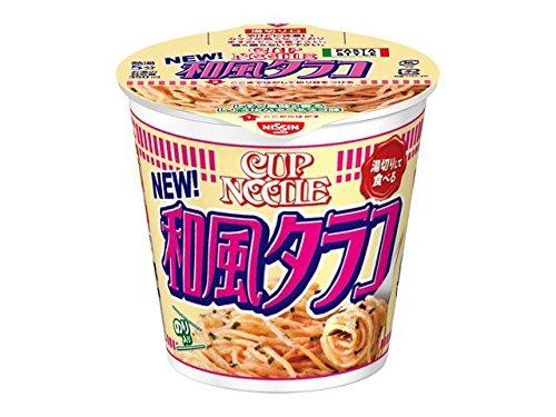 日清食品 カップヌードル パスタスタイル 和風タラコ 87g×12個