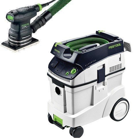 400 Eq Sander - P48567863, Festool RTS 400 EQ Sander & CT 48 E Dust Extractor