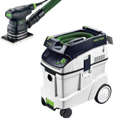 P48567863, Festool RTS 400 EQ Sander & CT 48 E Dust Extractor