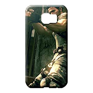 samsung galaxy s6 Eco Package Scratch-free New Arrival cell phone carrying covers resident evil chris redfield 3d