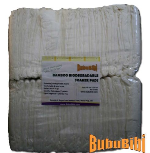 Biosoaker Biodegradable Bamboo Disposable Diaper product image