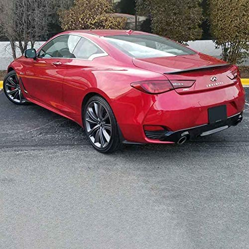 Dawn Enterprises Q60-17-FM Factory Style Flush Mount Spoiler Compatible with Infiniti Q60 RAY Blue Pearl