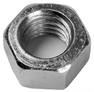 L.H. Dottie 5HN14 Hex Nut, Finished, 1/4-Inch-20 TPI, Zinc Plated, 100-Pack