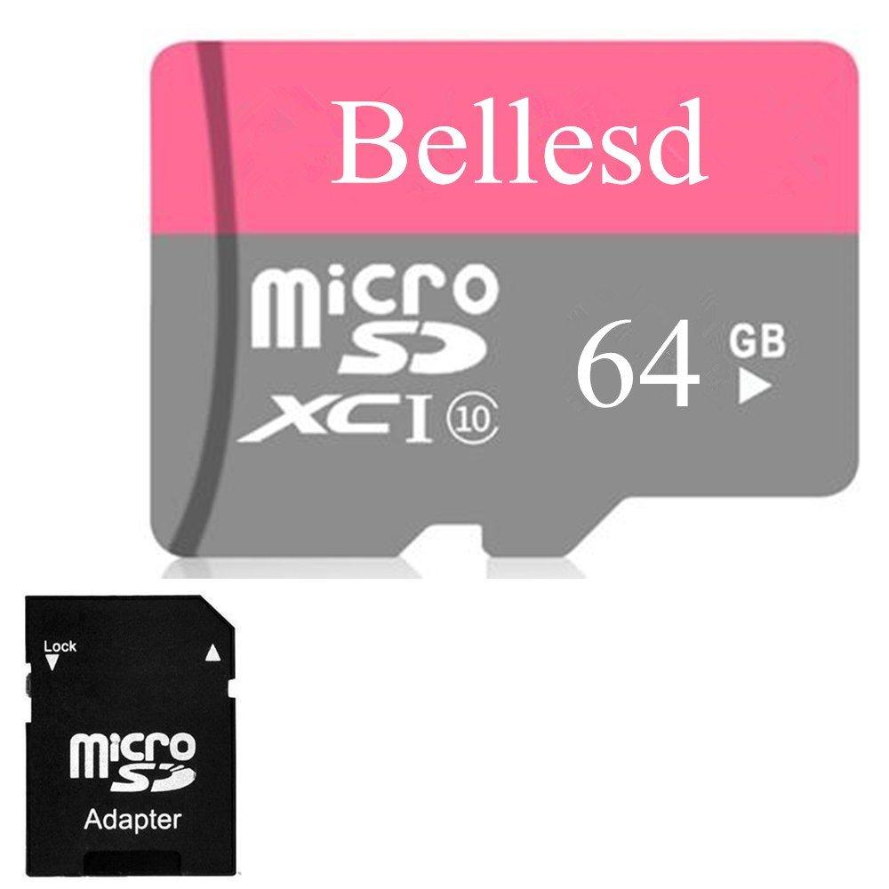 64GB Micro SD SDXC Speicherkarte Karte für Sony Alpha NEX-5T