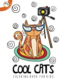 Cool Cats Coloring Book for Kids