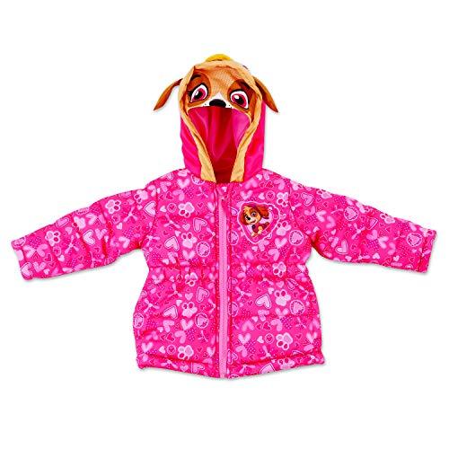 (Dreamwave Toddler Girl Paw Patrol Puffer Jacket 4T)