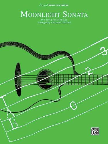 Moonlight Music Sonata Sheets (Moonlight Sonata - Beethoven - Classical Guitar - Sheet Music)
