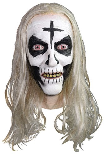 UHC Men's Scary Rob Zombie Otis Driftwood Horror Party Latex Halloween Mask]()