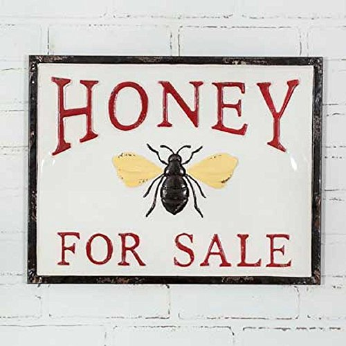 Honey For Sale Metal Sign ()