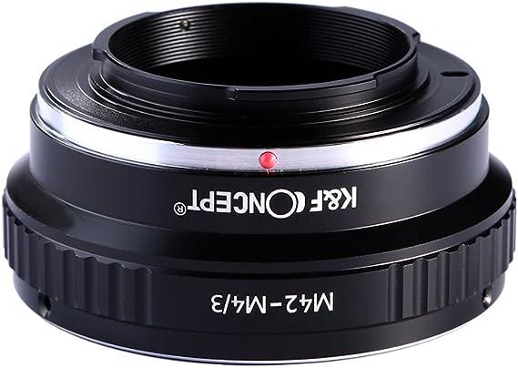 K & F CONCEPT adaptador de lente micro cuatro tercios M4/3 MFT ...