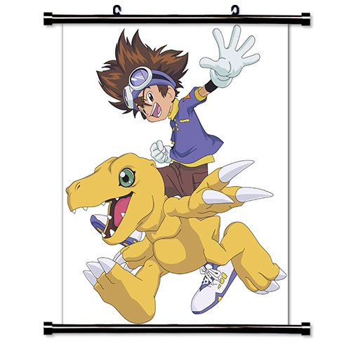 Digimon Anime Fabric Wall Scroll Poster