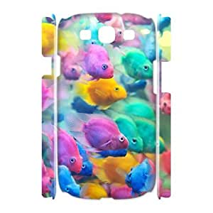 Colorful fish 3D-Printed ZLB608265 Customized 3D Phone Case for Samsung Galaxy S3 I9300