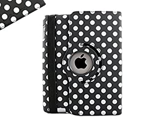 Sanoxy 360 Degrees Rotating Stand PU Leather Case for iPad 2/3/4 with Smart Cover Wake/Sleep Ability, Chocolate Brown (SANOXY-360FLT-IPA-BRN) by Sanoxy