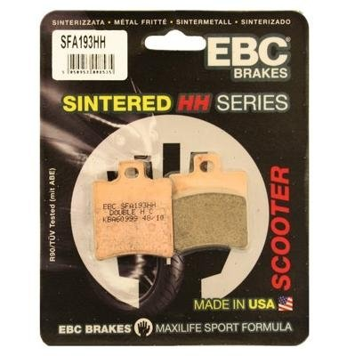 EBC Brakes SFA608HH Sintered Scooter Brake Pad
