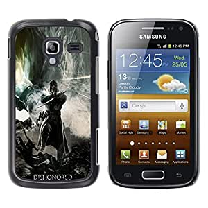 Samsung Galaxy Ace 2 i8160 / Ace2 II XS7560M, Radio-Star - Cáscara Funda Case Caso De Plástico (Dishonor Gaming Hero)