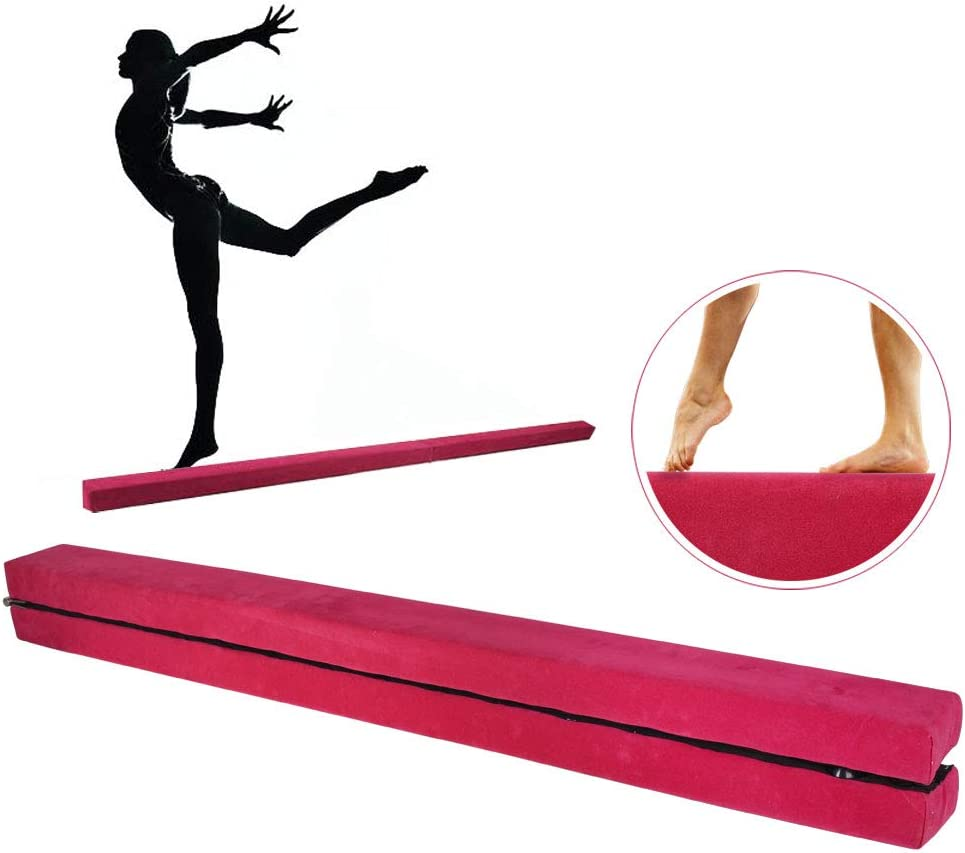 JNCH Poutre de Gymnastique Pliable 2.2m Violet//Rose//Bleu Balance Beam Poutre dEquilibre d/'Entra/înement Antid/érapante pour Enfant Adulte Maison Sport Gym Yoga Fitness R/é/éducation