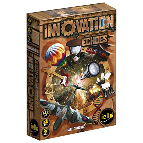 IELLO Innovation: Echoes Board Game (Game Board Innovation)