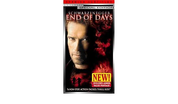End of Days [USA] [VHS]: Amazon.es: Arnold Schwarzenegger, Gabriel Byrne, Robin Tunney, Kevin Pollak, CCH Pounder, Derrick OConnor, David Weisenberg, ...