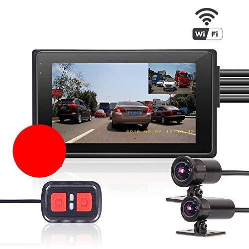 Motorcycle Dual Camera M2, with WiFi, 3.0