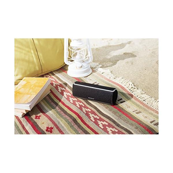 Sony SRS-XB21 Enceinte portable sans fil Bluetooth Waterproof avec effet lumineux - Jaune 6