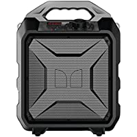 Monster Rockin Rambler Indoor/Outdoor Wireless Speaker, Black