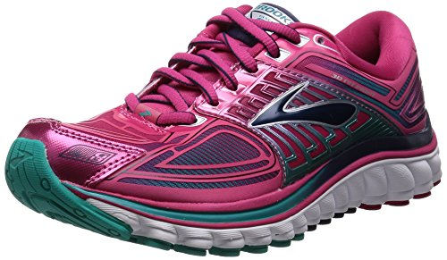 Brooks Women's Glycerin 13  Running Shoe - Bright Rose/lapis/parachute Purple - 7.5 B(M) US
