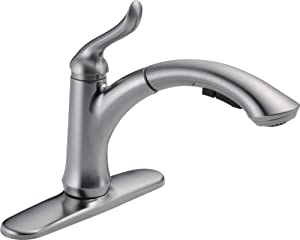 Linden 4353-AR-DST Single Handle Kitchen Sink Faucet