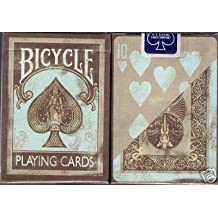 Bicycle Deluxe 2 Dirty Deck Playing Cards Set in Leather Case