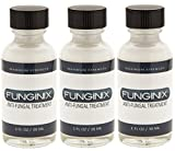 Funginix Natural Fungus Toenail Treatment - Safe, Effective, and Guaranteed! (3 Bottles)