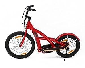 Stepperbike rot glänzend mit 7 Gang Nabenschaltung
