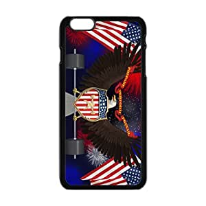 US flag and eagle sign Cell Phone Case for iPhone plus 6